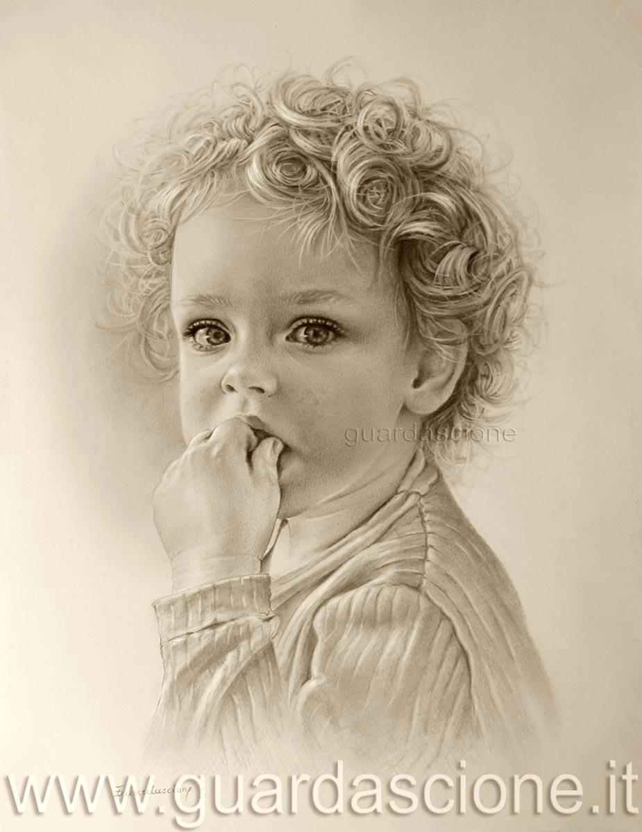 Conosciuto Ritratto di bambino | bimbi RITRATTI VG82