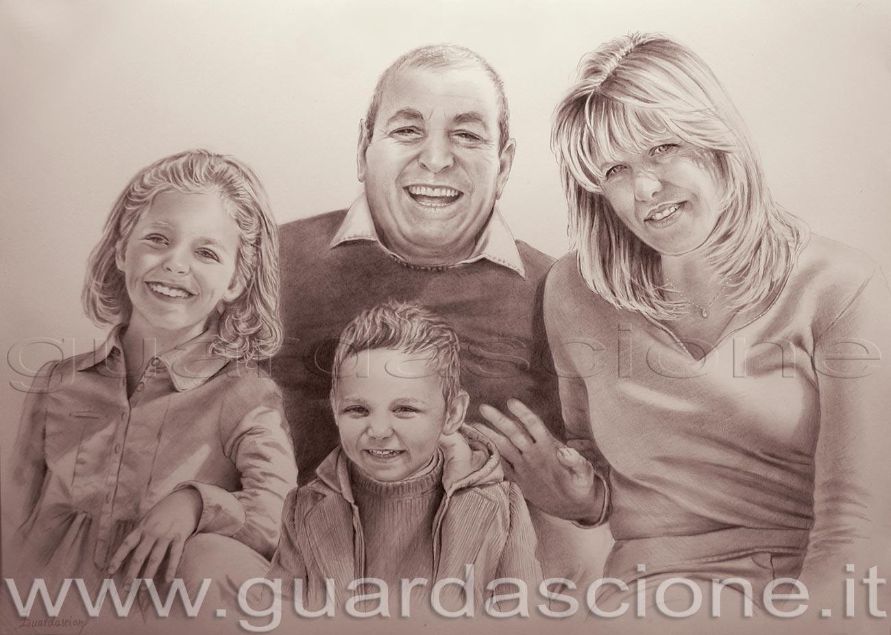 Conosciuto ritratto di famiglia XU79
